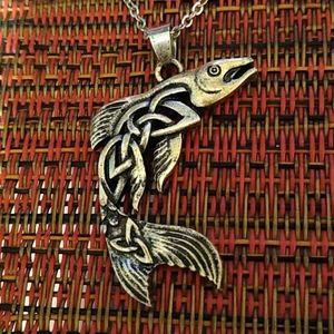Celtic Fish Necklace